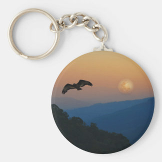 An eagles ascent keychain