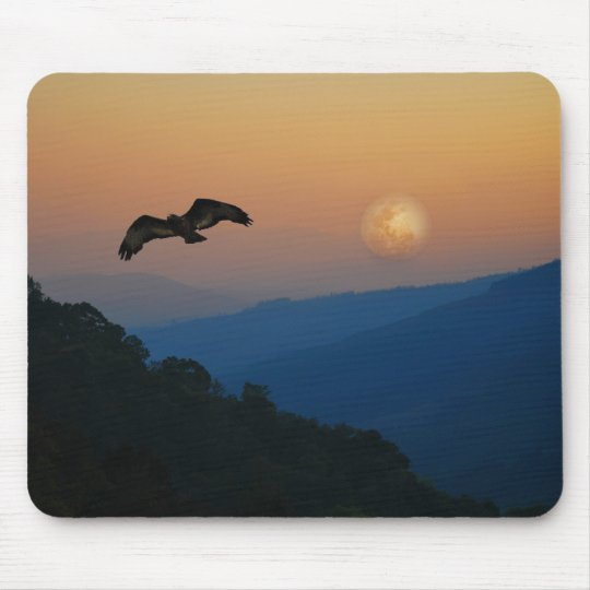 An eagles ascent mouse pad