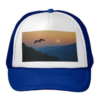 An eagles ascent trucker hat