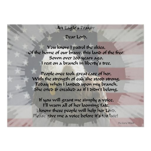 An Eagle's Prayer EZ Read Poster