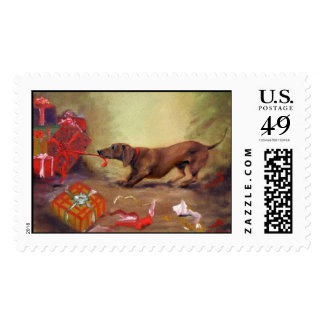 An Early Christmas Stamp