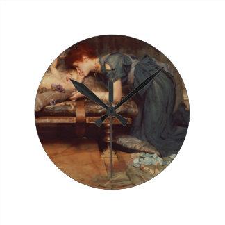 An Earthly Paradise, 1891 (oil on canvas) Clocks