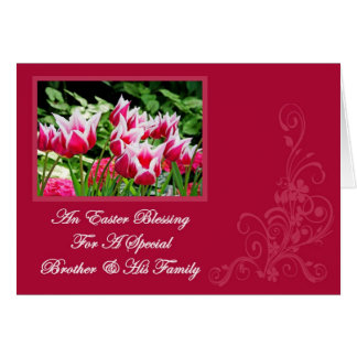 An Easter Blessing Card Brother & His Family