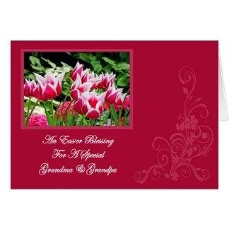 An Easter Blessing Card Grandma & Grandpa