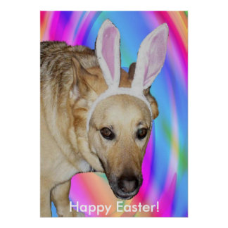 An Easter Bunny? Print Poster