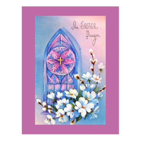 An Easter Prayer Postcard
