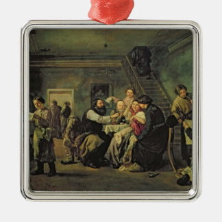 An Eating House, 1859 Metal Ornament
