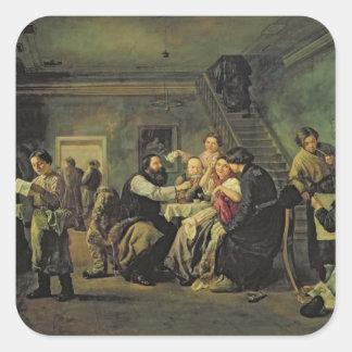 An Eating House, 1859 Sticker