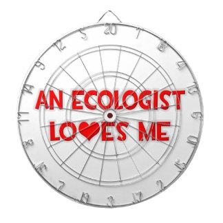 An Ecologist Loves Me Dart Board