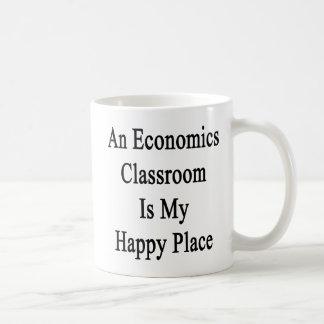 An Economics Classroom Is My Happy Place Coffee Mug