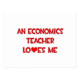 An Economics Teacher Loves Me Postcard