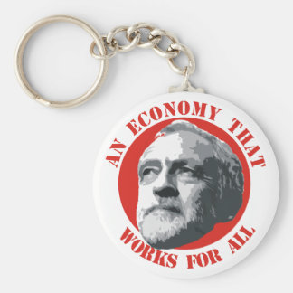 An Economy That Works For All Keychain