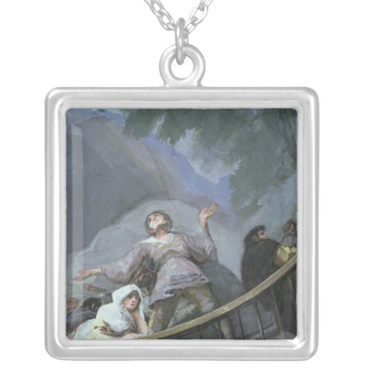An Ecstatic Witness Silver Plated Necklace