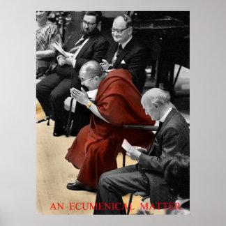 an ecumenical matter poster