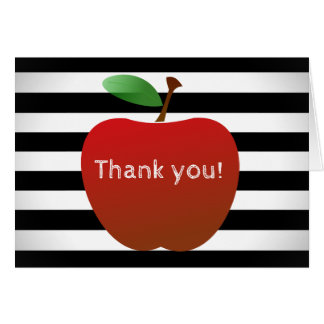 An Educator's Thank You Note Card