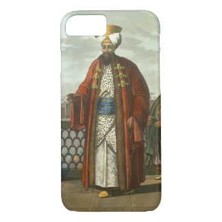 An Egyptian Bey, plate 41 from 'Views in Egypt', e iPhone 8/7 Case