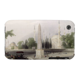 An Egyptian obelisk in the Atmeidan, or Hippodrome iPhone 3 Case-Mate Case
