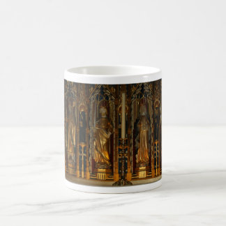 An elaborate Alter in Ripon Cathedral Mug