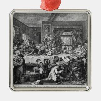 An Election Entertainment, 1755 Metal Ornament