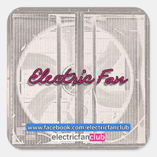 An Electric Fan Club Sticker