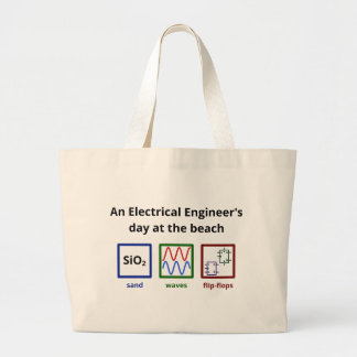 An Electrical Engineer's day at the beach Bag