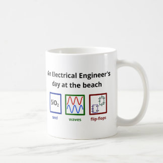 An Electrical Engineer's day at the beach Coffee Mug