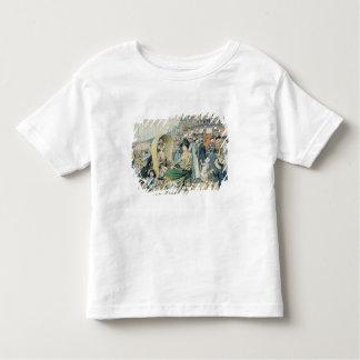 An Elegant Beach, 1887 Toddler T-shirt