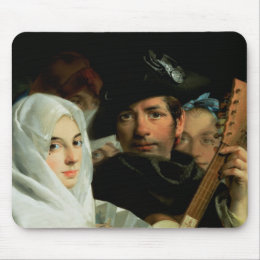 An Elegant Couple from Madrid, c.1770 Mouse Pad