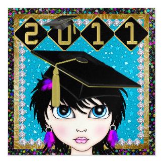 An Elegant Diva Graduation - SRF Custom Invites