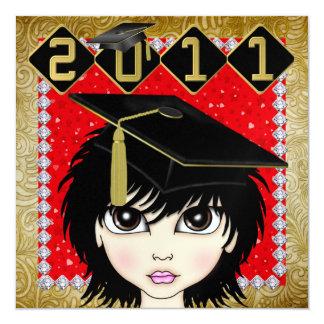 An Elegant Diva Graduation - SRF Invite
