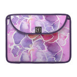 An Elegant Floral Rickshaw MacBook Sleeve Sleeves For MacBook Pro