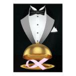 An Elegant Pink Ribbon Cancer Awareness Event 5x7 Paper Invitation Card