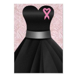 An Elegant Pink Ribbon Occasion  - SRF 3.5x5 Paper Invitation Card