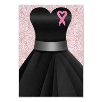 An Elegant Pink Ribbon Occasion  - SRF Invitation