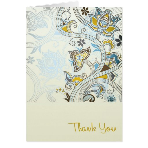An Elegant Thank You Card