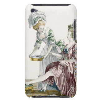 An Elegant Woman Washing her Feet, plate 32 from ' iPod Touch Cover