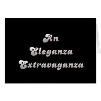 An Eleganza Extravaganza Card