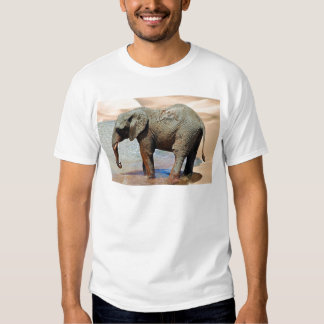An Elephant at water T Shirt