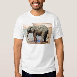 An Elephant at water Tee Shirt