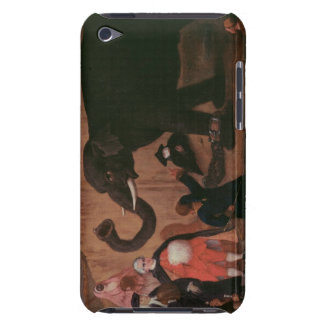 An Elephant Shown in Venice (oil on canvas) iPod Touch Cover