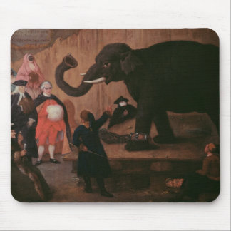 An Elephant Shown in Venice (oil on canvas) Mouse Pad