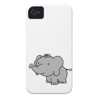 An Elephant's Breakfast iPhone 4 Cover