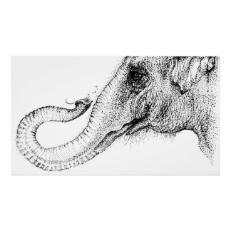 An elephant's faithful 100% by Inkspot Posters