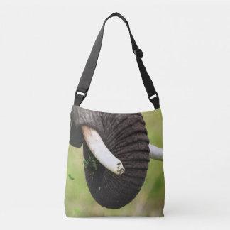 An elephants tusks, Africa Serengeti Crossbody Bag