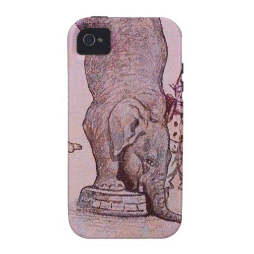 An Elephant's Work iPhone 4 Case