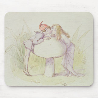 An Elf and a Fairy Mouse Pad