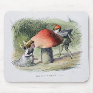 An Elf in Search of a Fairy, illustration from 'In Mousepads