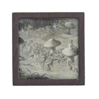 An Elfin Dance by Night, illustration from 'In Fai Premium Trinket Box