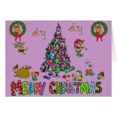 An Elven Christmas Card at Zazzle