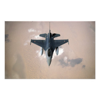 An Emirati F-16 Photo Print